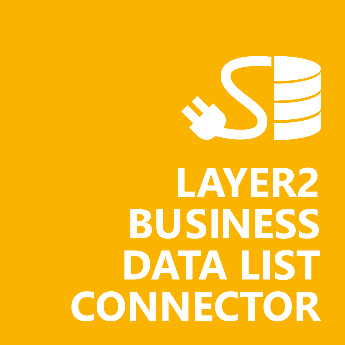 The Layer2 Business Data List Connector connects 100+ external sources to SharePoint on-prem lists.