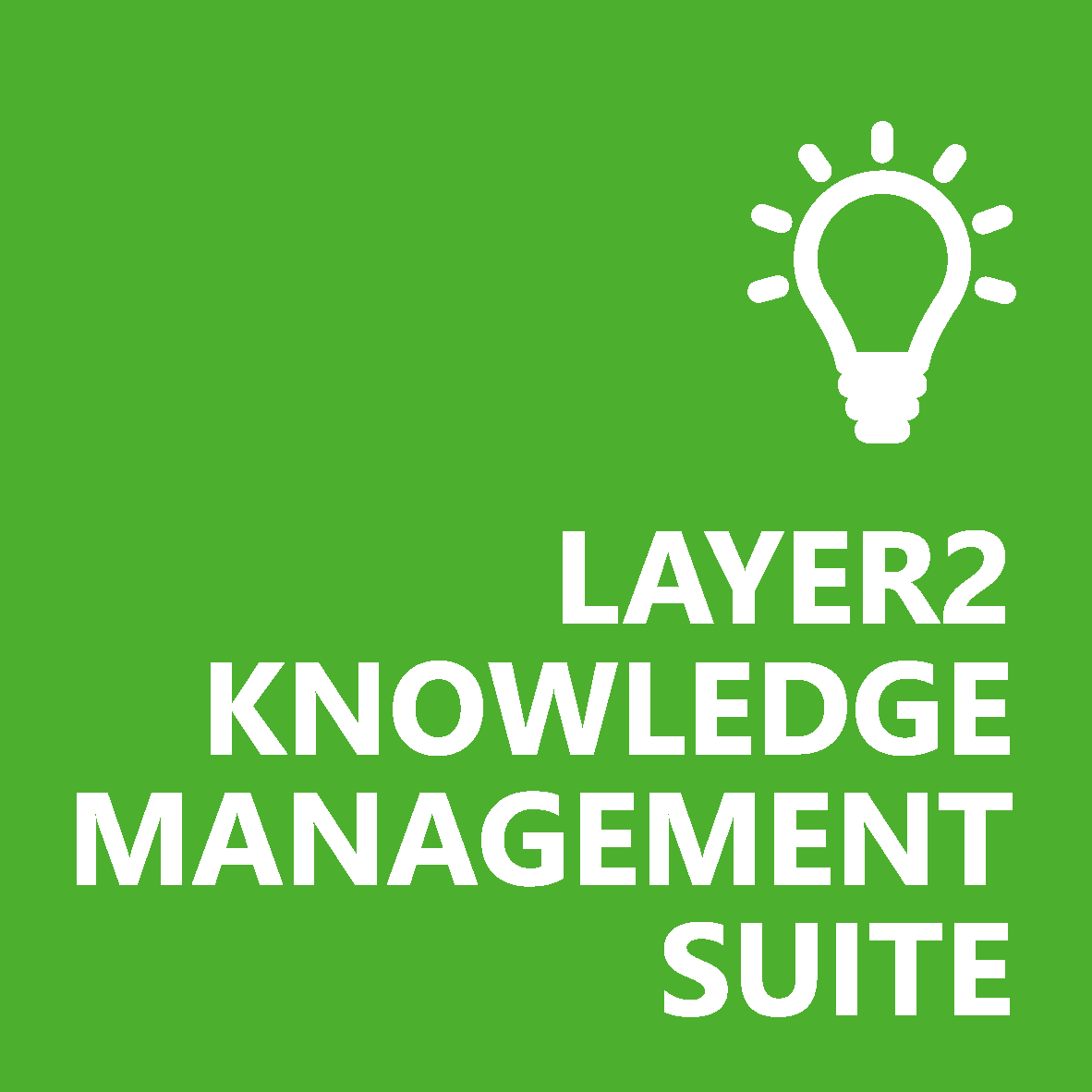 The Layer2 Knowledge Management Suite turns data into knowledge for SharePoint on-premises.