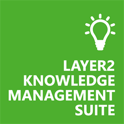 Logo of our Layer2 Knowledge Management Suite