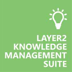Layer2 Knowledge Management Suite Logo for Banner