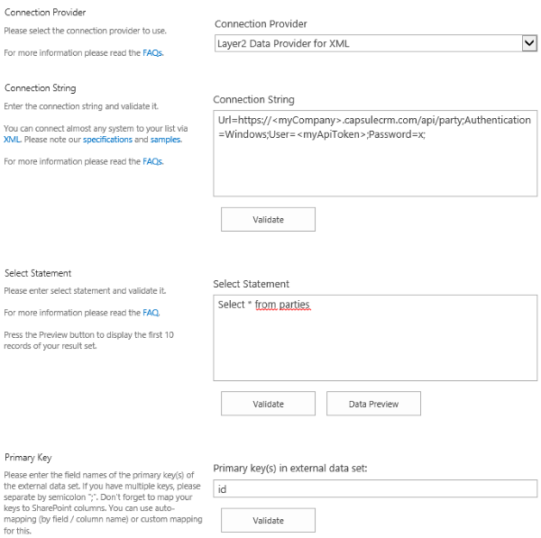 bdlc capsule crm sharepoint integration