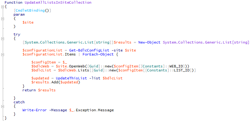 How to use the BDLC API with PowerShell