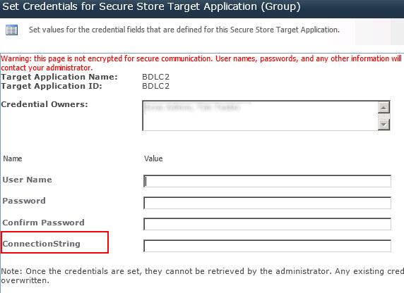 sharepoint external data secure store 1