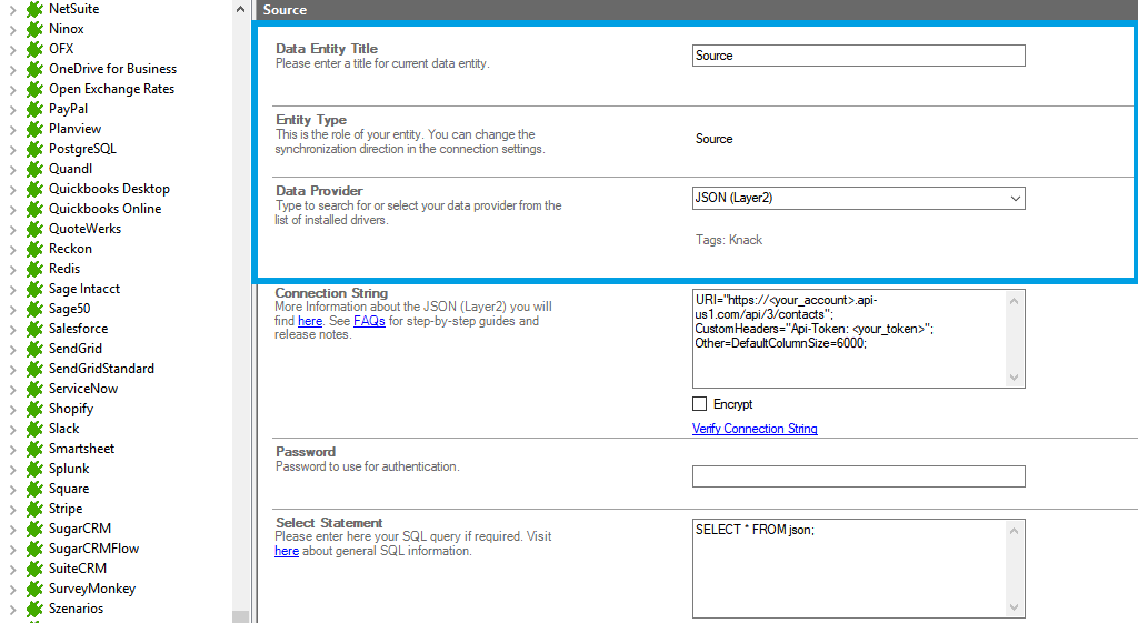 Step 2 ActiveCampaign integration source setup