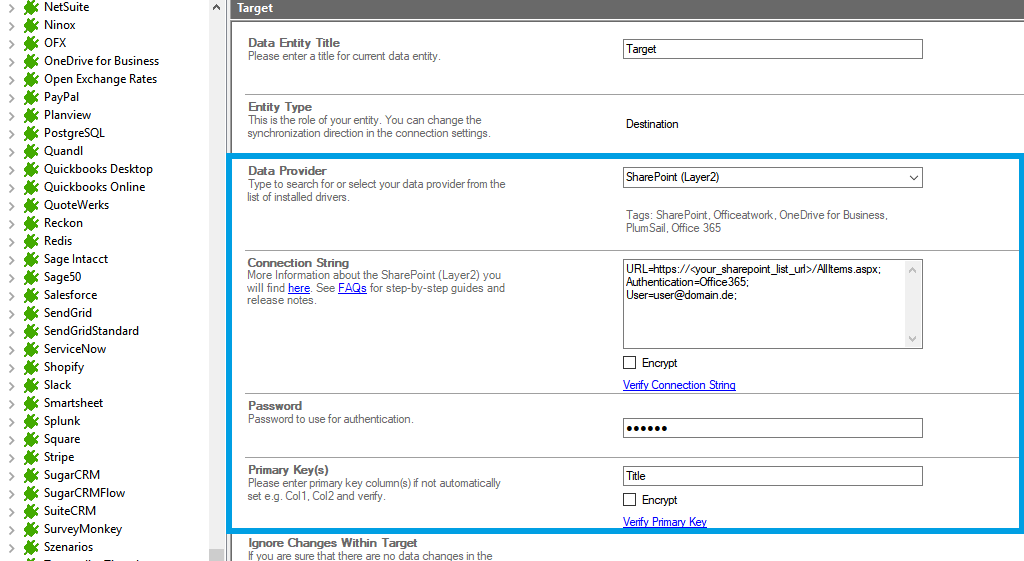 Step 3 ActiveCampaign integration target setup