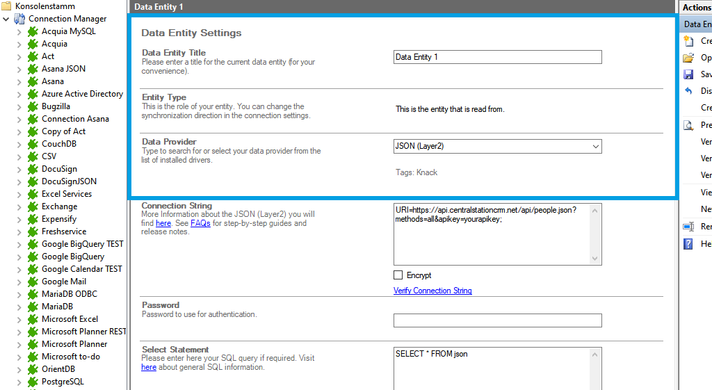 Step 2 CentralStationCRM integration source setup.png