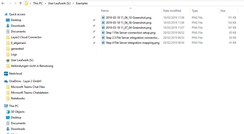 File Server Integration