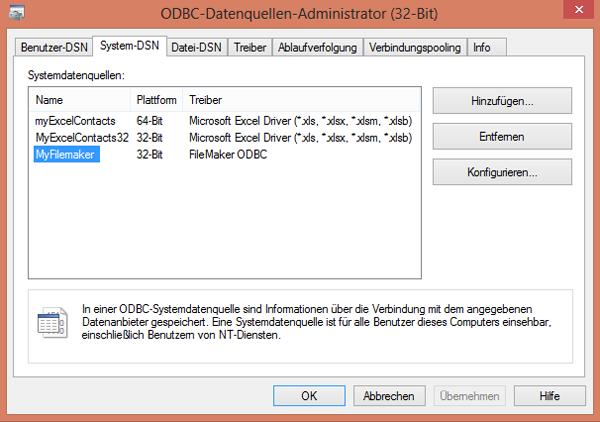 Data Provider for ODBC - Q & A