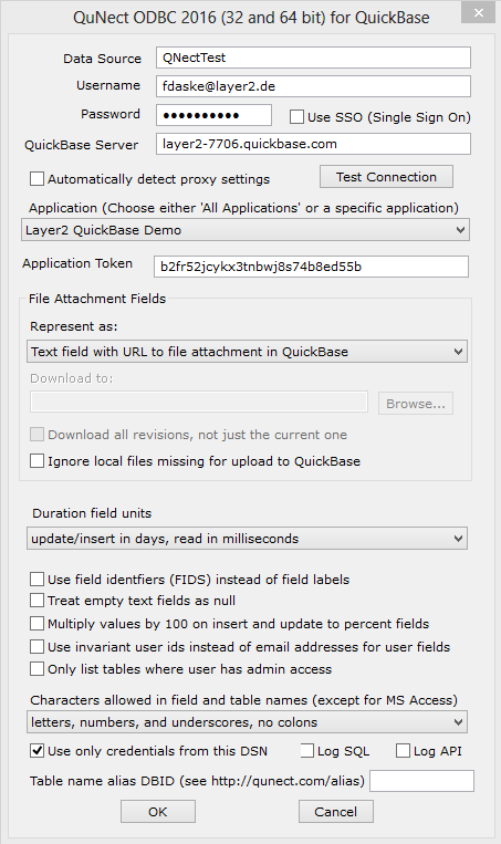 Intuit QuickBase Data Integration with Office 365