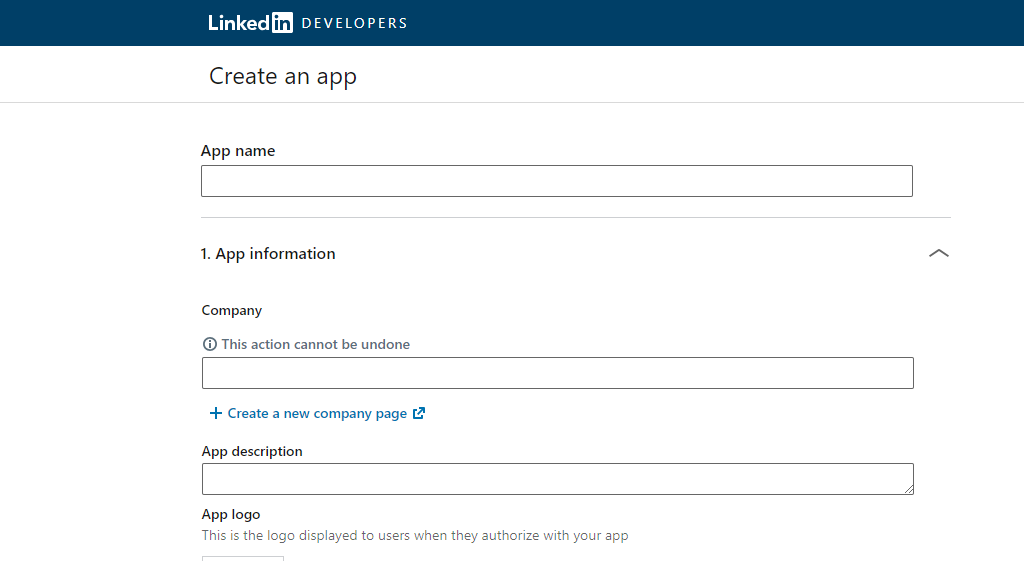 LinkedIn app settings