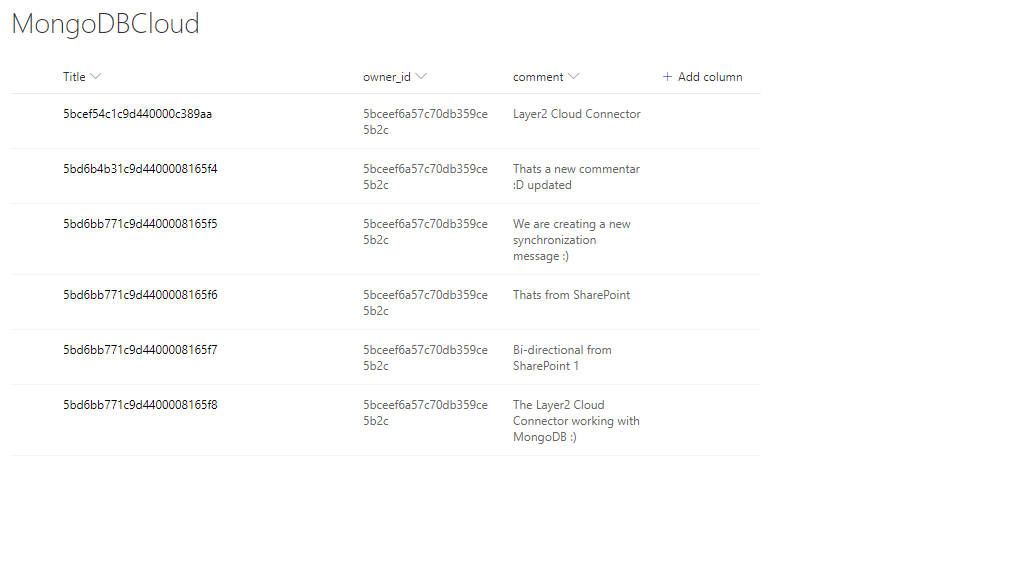 MongoDB Cloud integration with 100 + systems | Layer2