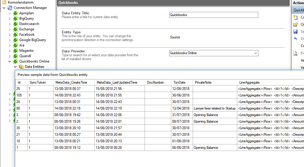 Preview data of Quickbooks Online integration.png
