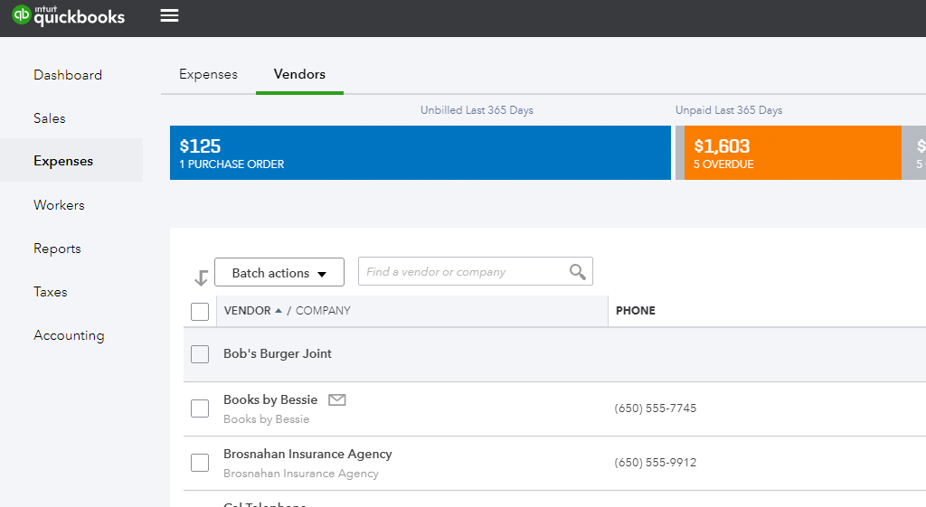 Data of quickbooks online ready for integration with SharePoint
