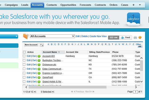Salesforce Integration with Office 365, SharePoint and others