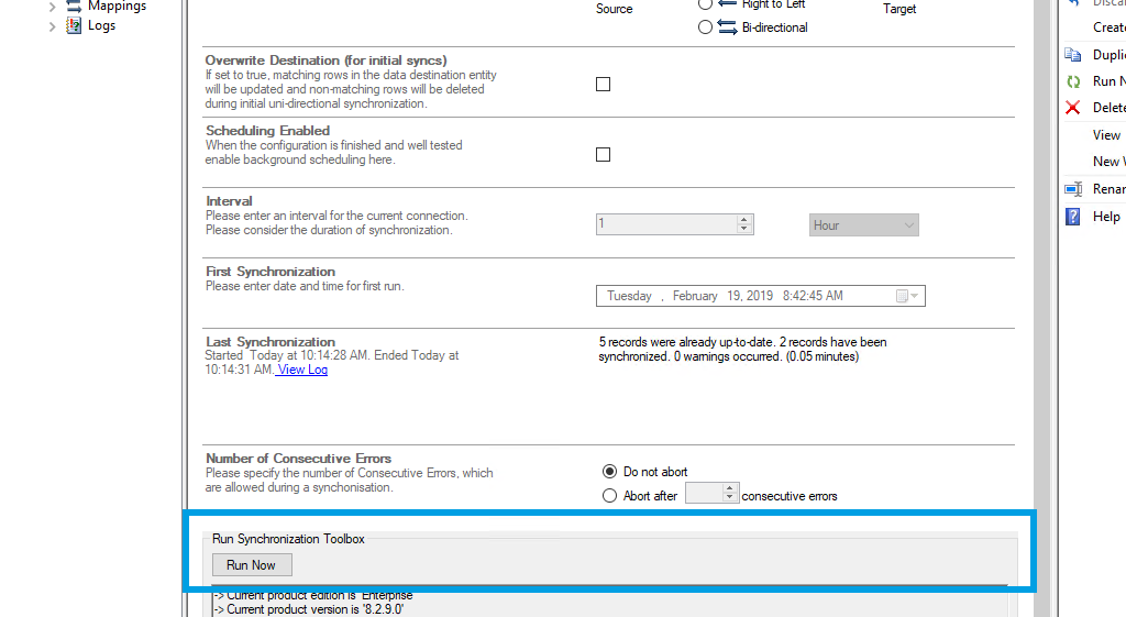 Step 5 SCCM data integration start.png