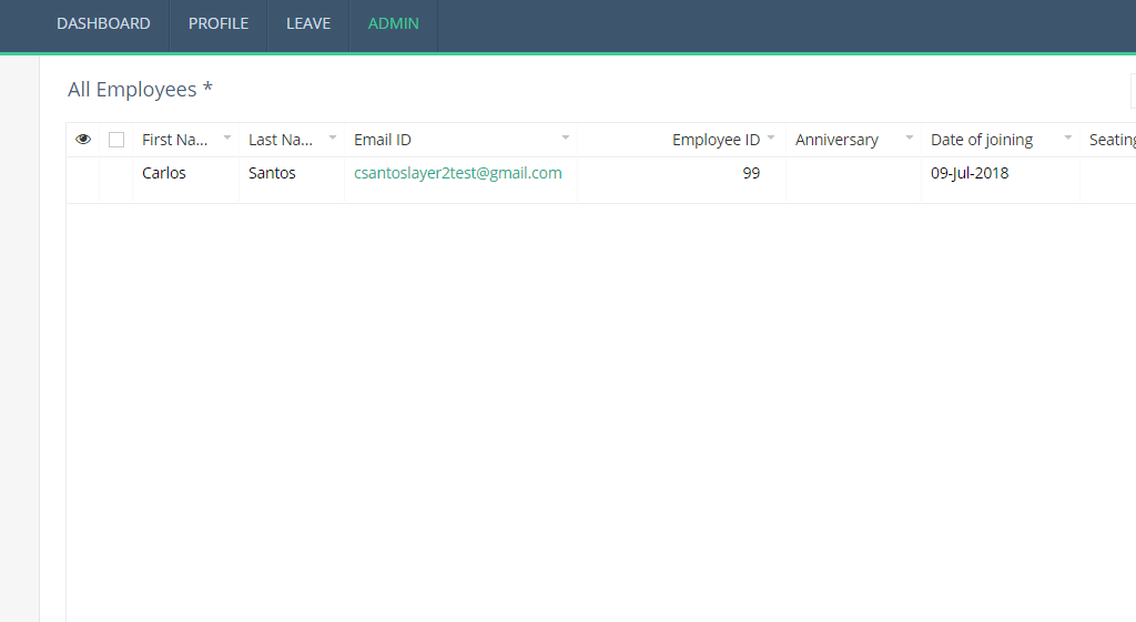Example: Zoho Creator data ready for integration