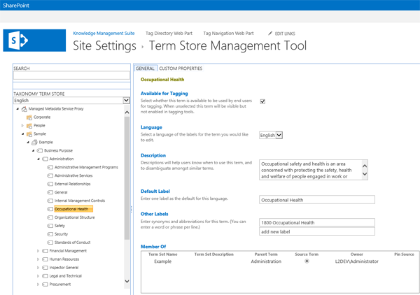 sharepoint-tag-navigation-term-store