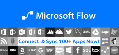 microsoft flow connectors banner